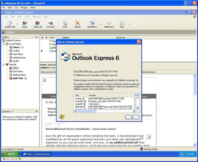Outlook express latest version 2019 free download.