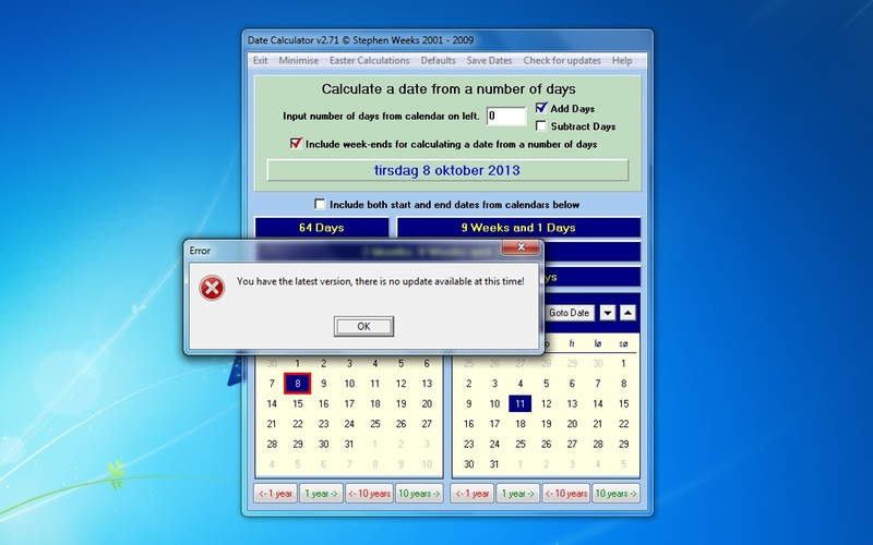 Download Date Calculator 2 71 for free