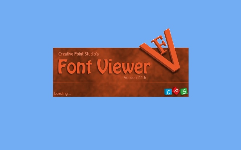 Download CPS Font Viewer 2 1 5 for free