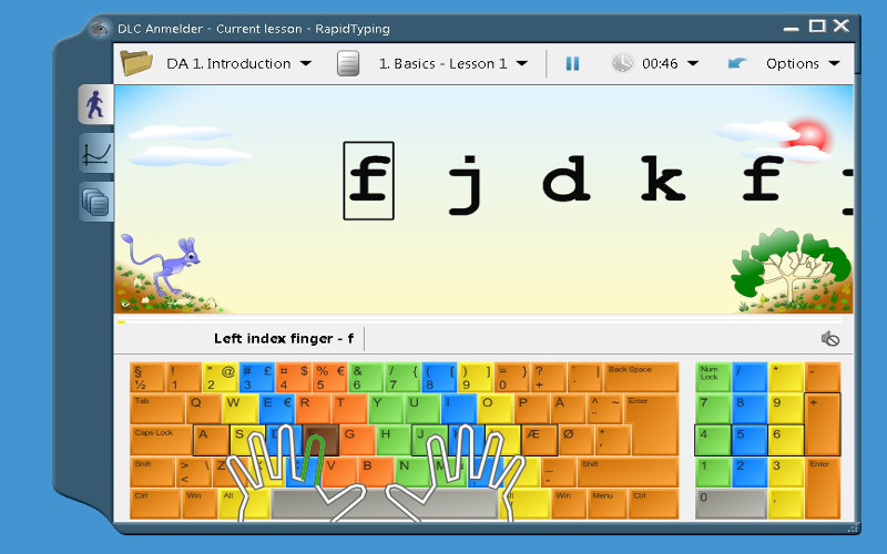 Download Rapid Typing Tutor 4 6 6 for free