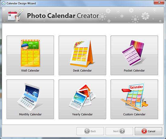 calendar creator program
