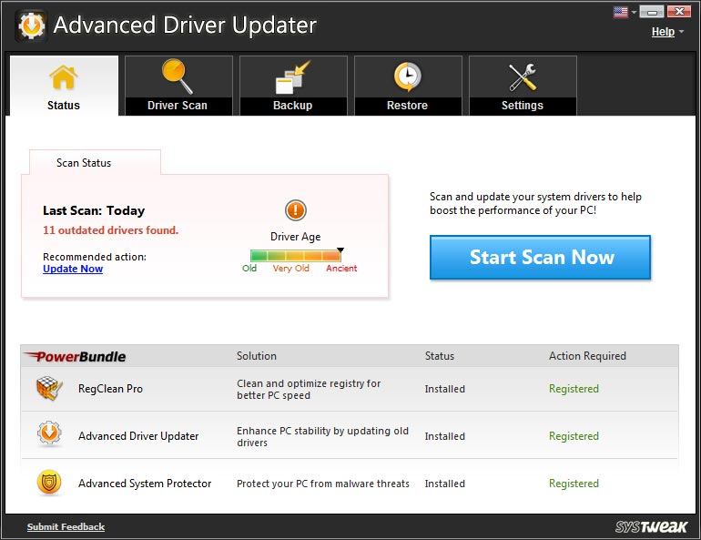 Download Advanced Driver Updater 2017 for free