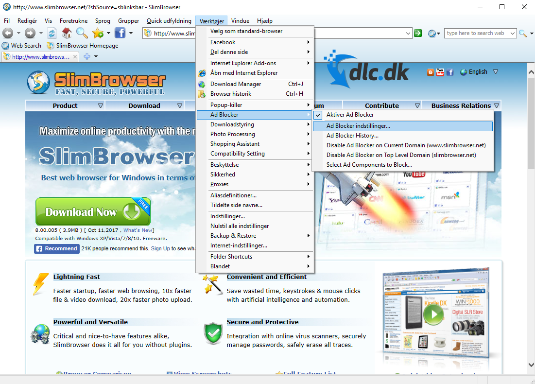 Download Slim Browser 7 00 091 for free