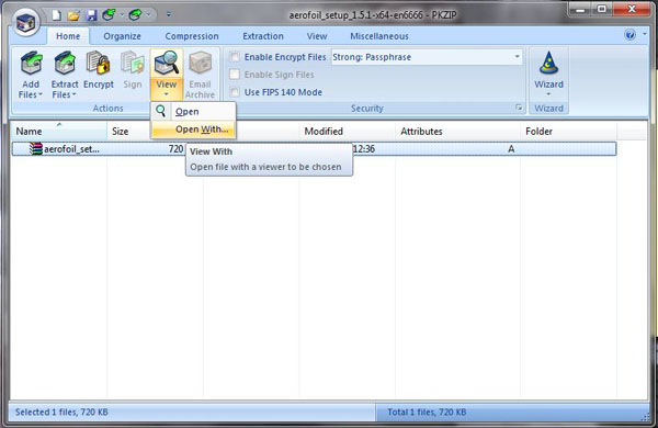 Download PKZIP 12 40 for free