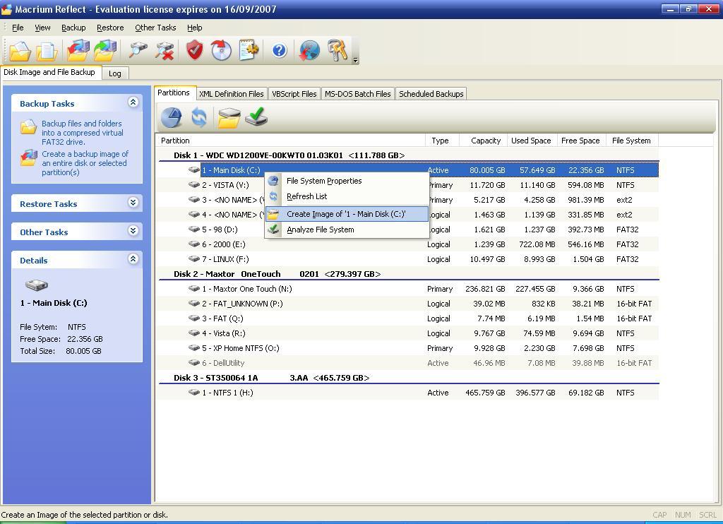 macrium reflect download error