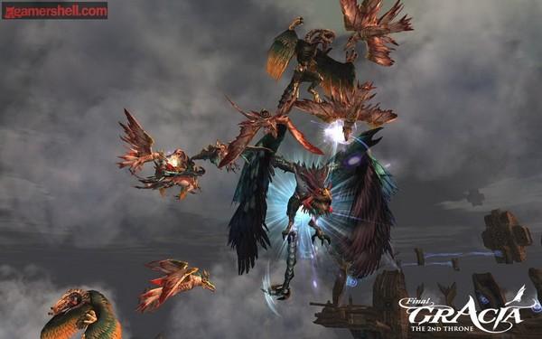Скачать игру Lineage II The 2nd Throne Gracia Final v1.0.8 (RUS/2009.