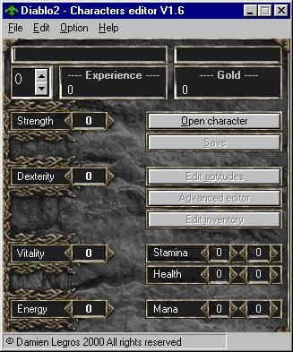 Download Diablo 2 Character Editor For Free