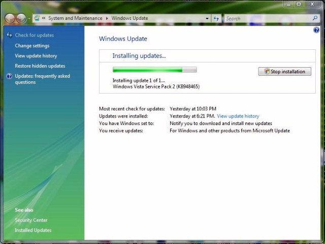 Download windows vista service pack 2 64 bit (free) 2019.