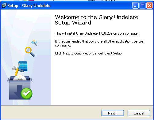 glarysoft undelete free