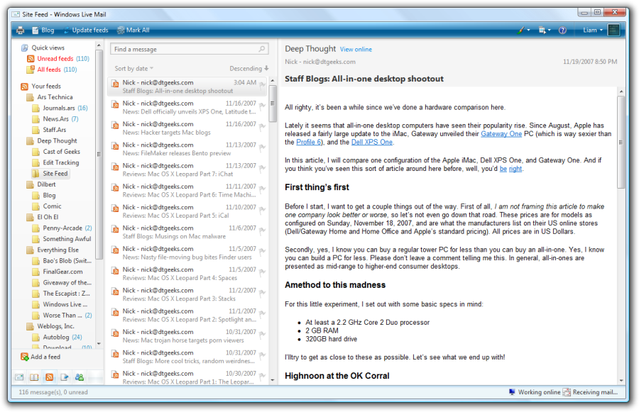 Download Windows Live Mail 2012 for free