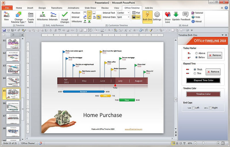 Download Office Timeline 2010 1 0 For Free