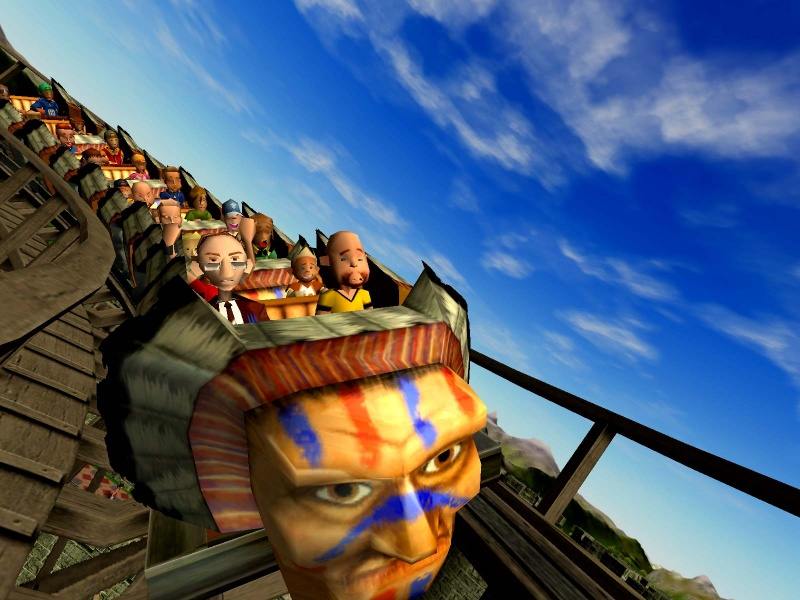 Download RollerCoaster Tycoon 3for free